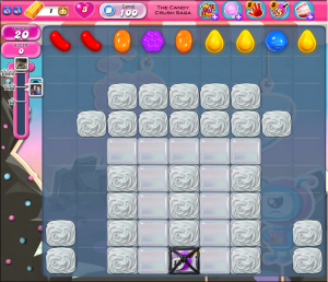 Candy Crush Saga Level 100