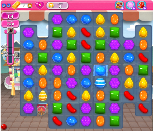Candy Crush Saga Level 4