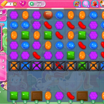 Candy Crush Saga Level 54