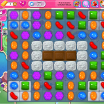 Candy Crush Saga Level 58