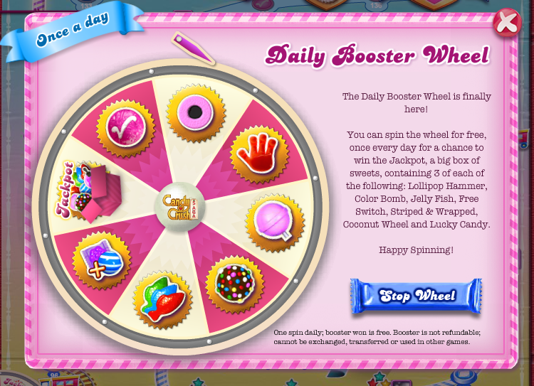 Candy Crush Boosters